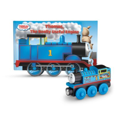 Thomas & Friends Wooden Railway Thomas the Really Useful Engine Book
