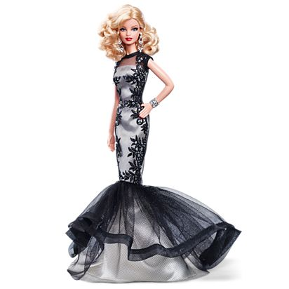 Classic Evening Gown Barbie Doll Cgt31 Barbie Signature