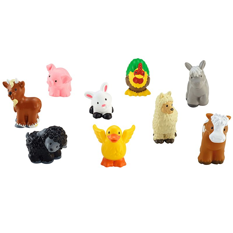 Little People Farm Animal Friends Figures Chd20 Fisher Price
