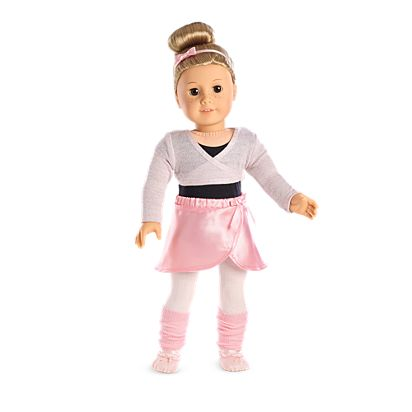 008fba29cfb3 Pretty Plie Ballet Outfit for 18-inch Dolls | American Girl