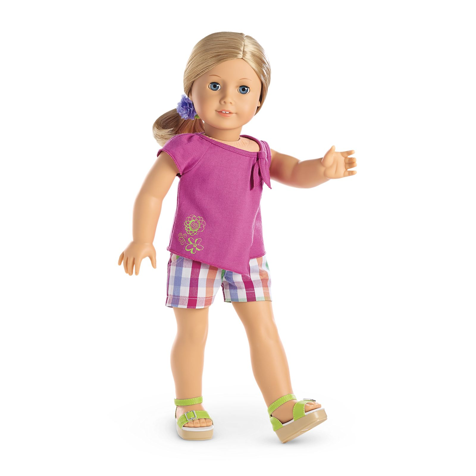 Sunshine Garden Outfit for 5-inch Dolls