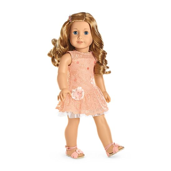 Shimmer & Lace Party Dress for Dolls | Truly Me | American Girl