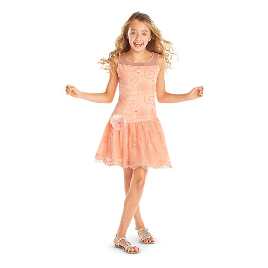Shimmer & Lace Party Dress for Girls | Truly Me | American Girl