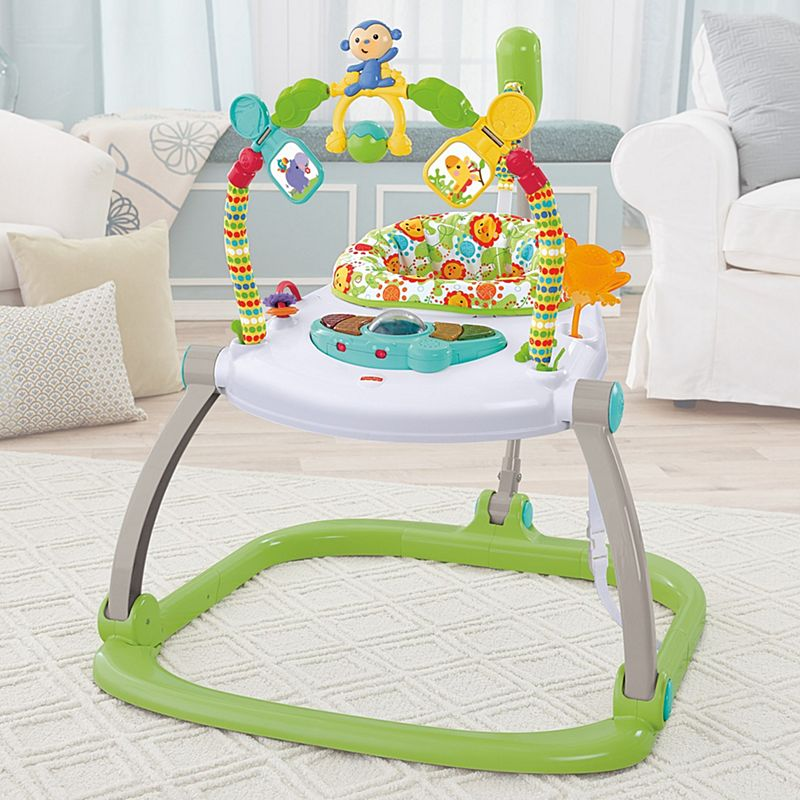 Fisher Price Trotteur rainforest friends spacesaver jumperoo | chn44 | fisher-price
