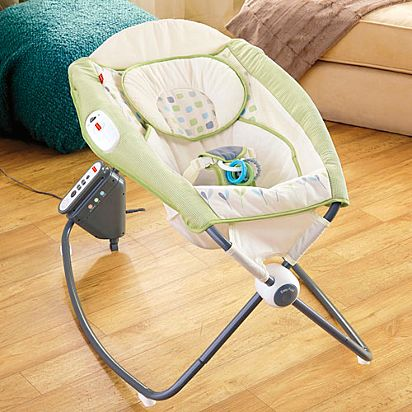 Deluxe Auto Rock N Play Sleeper Geo Dream Chn19 Fisher Price