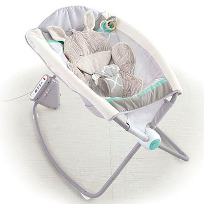 7578954539f Image for Safari Dreams Deluxe Newborn Auto Rock  n Play™ Sleeper from  Mattel