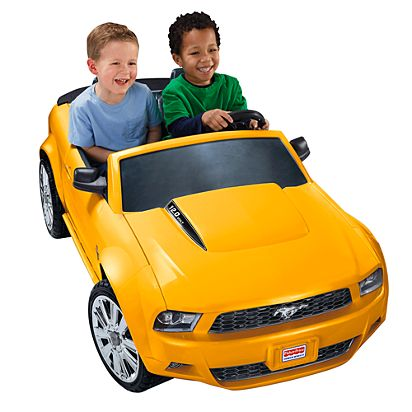 Power Wheels Ford Mustang Chp08 Fisher Price
