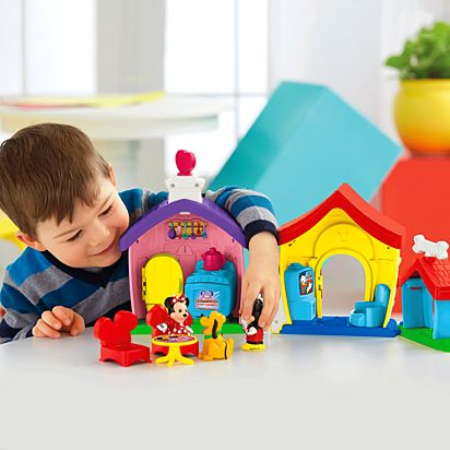 Magic Of Disney Mickey And Minnies House Playset By Little People