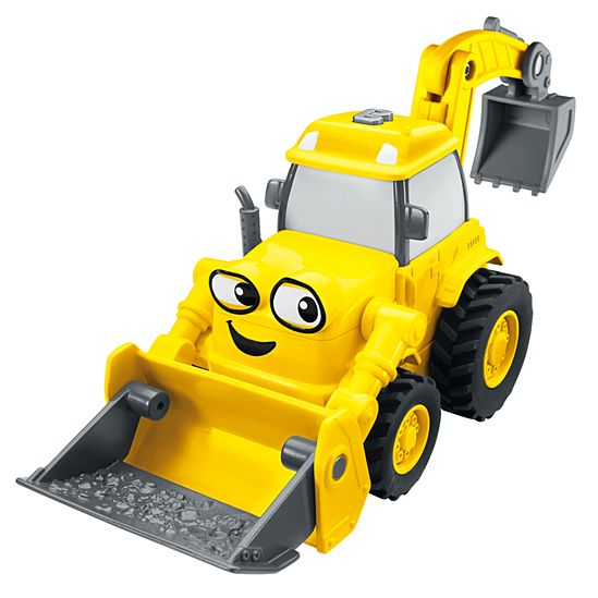 Bob the builder talking scoop vehicle cjh02 fisher price image for btb talking scoop from mattel sciox Images