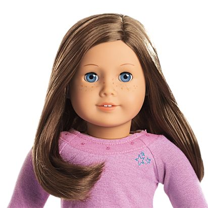 bbf83cd4d89 Image for Light skin with freckles, brown hair, blue eyes from American Girl
