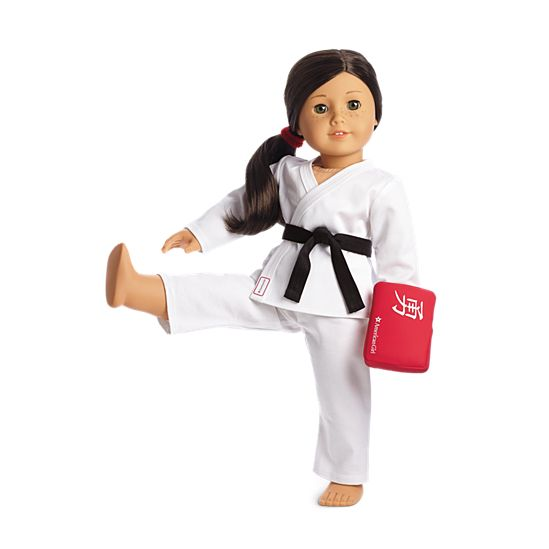 American Girl Truly Me Karate Class Set for 18 Inch Dolls Outfit Clothes NEW Sonstige