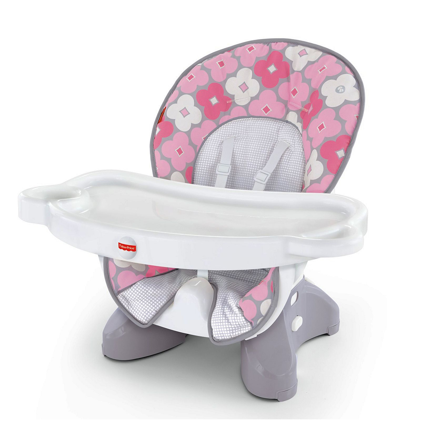 Feeding Fisher Price Baby Infant Space Saver High Chair Booster Seat Pink Ellipse 50 Lb