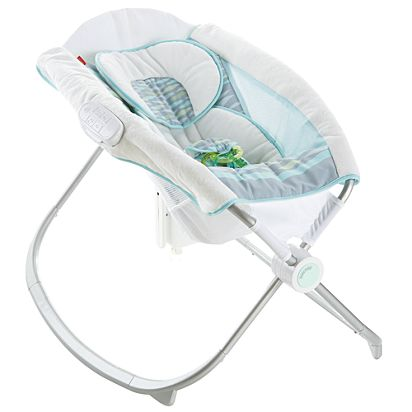 9c03e39faa3 Image for Soothing River Deluxe Newborn Auto Rock n Play Sleeper with  SmartConnect from Mattel