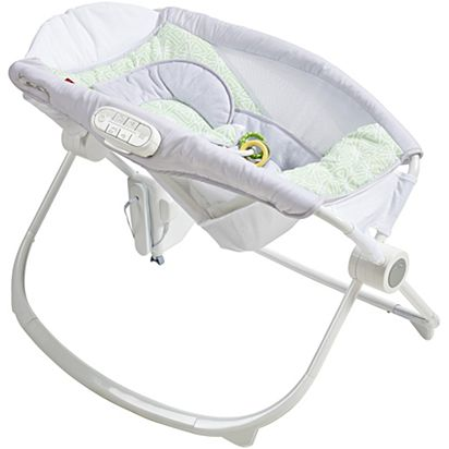 Image for Deluxe Newborn Auto Rock  n Play Sleeper with SmartConnect - Isle  Stone from 23339cf5e