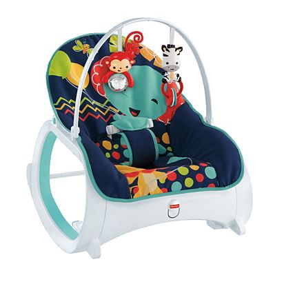 04fa0fcf363 Image for Infant-to-Toddler Rocker - Midnight Rainforest from Mattel
