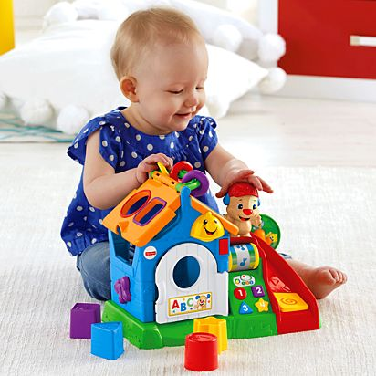 Laugh Learn Smart Stages Activity Playhouse Cmw49 Fisher Price
