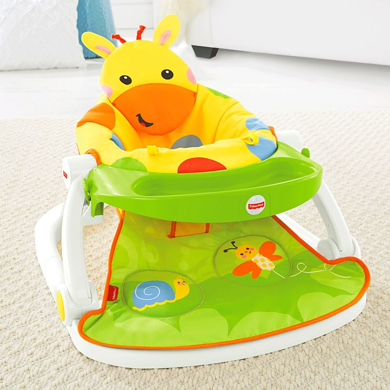 Sit Me Up Floor Seat With Tray Cmx43 Fisher Price