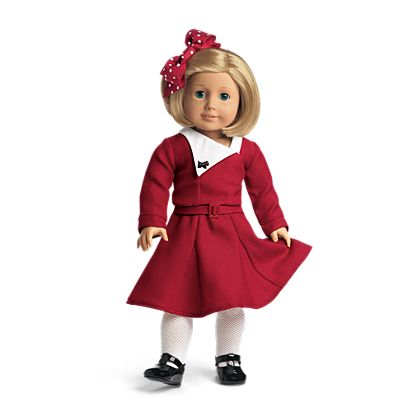 American Girl Kit's Holiday Outfit - Kit's Holiday Outfit BeForever American Girl