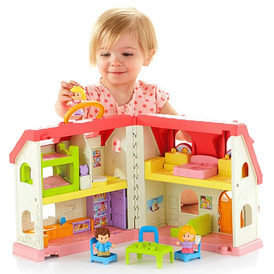 Little People Surprise Sounds Home Dfn41 Fisher Price 9 Room Dream Family