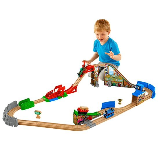 Image For TWR RACE DAY RELAY SET From Mattel