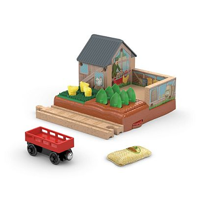 Thomas Friends Wooden Railway Mccolls Farm Chicken Coop Dfx05