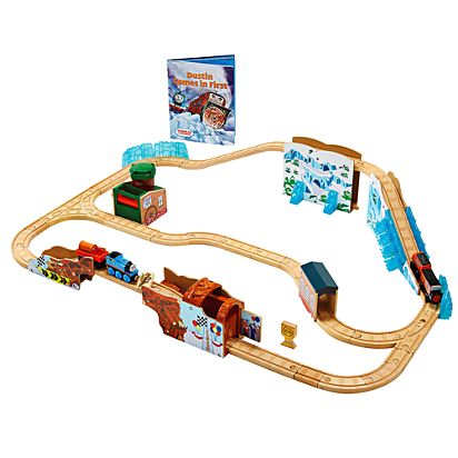 Thomas Friends Wooden Railway Dustin Comes In First Train Set
