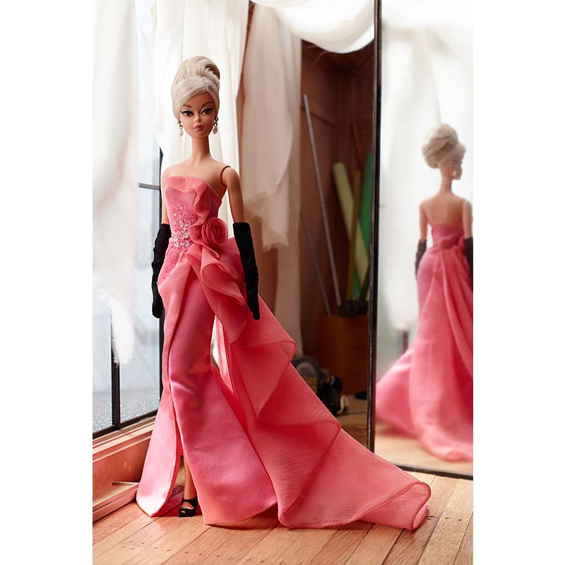 Glam Gown Barbie Doll Dgw58 Barbie Signature