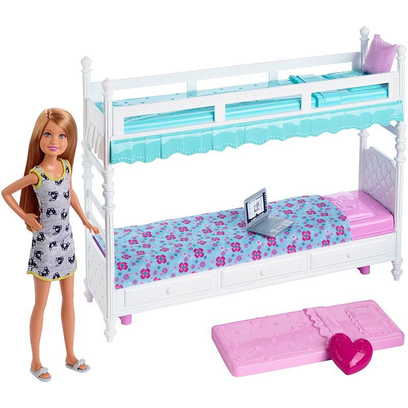 Barbie Sisters Bunk Beds Stacie Doll Dgx45 Barbie