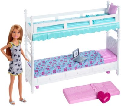 Picture of: Barbie Sisters Bunk Beds Stacie Doll Dgx45 Barbie