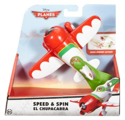 Disney Planes Speed  Spin Rev Ups El Chupacabra