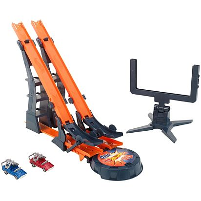 Hot Wheels Versus Track Set Dhy25 Hot Wheels