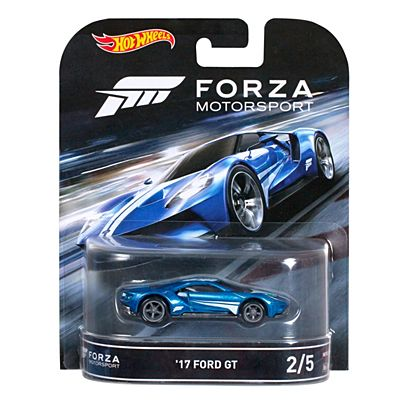 Hot Wheels 2017 Ford Gt Car Forza Motorsport Djf50 Hot Wheels