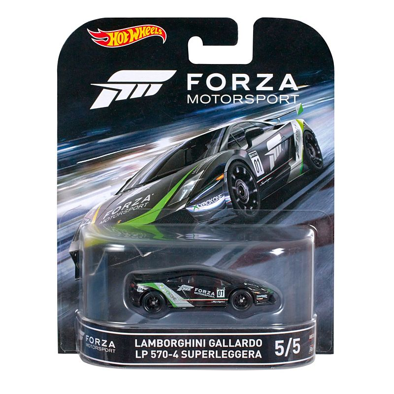 hot wheels lamborghini gallardo lp 570-4 superleggera car - forza