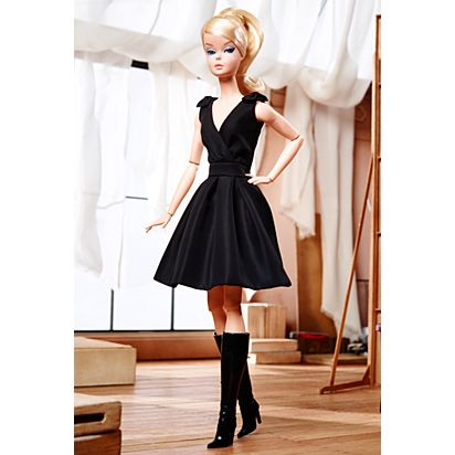 Clic Black Dress Barbie Doll Dkn07