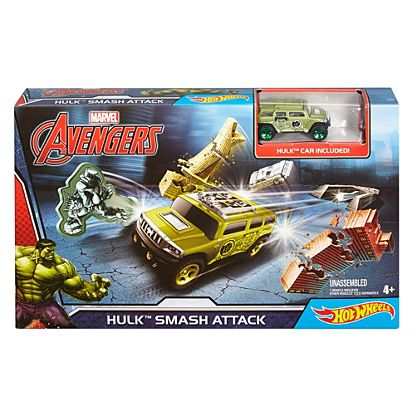 many styles new cheap 100% quality Hot Wheels® Marvel® Hulk™ Smash Attack Trackset