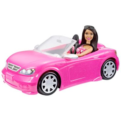 Barbie Doll And Glam Convertible Dmm09 Barbie