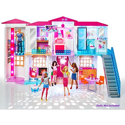 Image For Brb Elec Drm House From Mattel