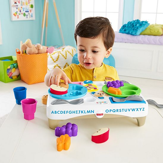 Image For LAUGH LEARN SAY PLEASE SNACK SET From Mattel