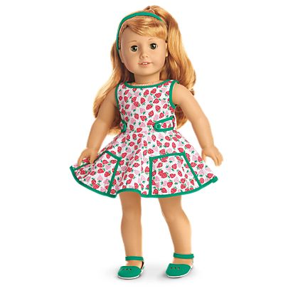 b8a6d9fb215e Maryellen's Strawberry Outfit for 18-inch Dolls | American Girl
