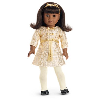 American Girl Melody's Christmas Outfit for 18-inch Dollst - Melody's Christmas Outfit For 18-inch Dolls American Girl