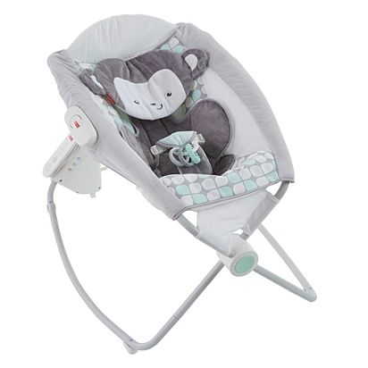 b339040b0a6 Sweet Surroundings Monkey Deluxe Auto Rock  n Play Sleeper