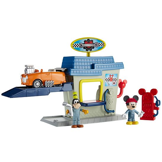 disney mickey and the roadster racers roadster ready pit stop