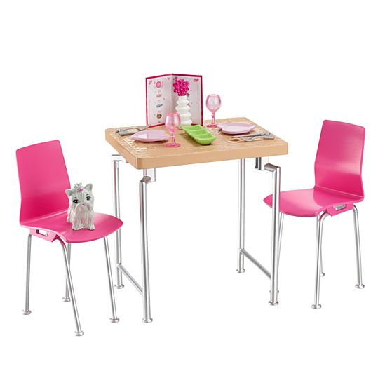 Barbie Dining Set Kitten