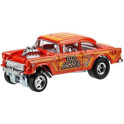 Hot Wheels Car Culture 55 Chevy Bel Air Gasser Vehicle Dwh84