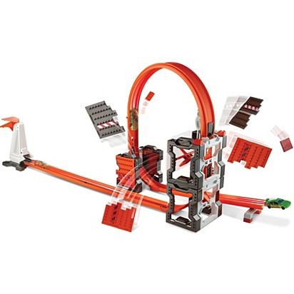 Hot Wheels Track Builder Construction Crash Kit Dww96 Hot Wheels