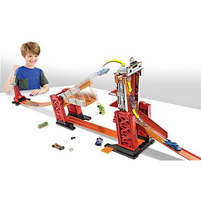 Hot Wheels Track Builder Stunt Bridge Kit Dww97 Hot Wheels