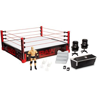 f079ad6aec0c WWE Raw Main Event Ring | DXG60 | Mattel Shop