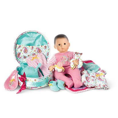 Wondrous Bitty Baby Doll Accessories Set Brown Hair Brown Eyes Gmtry Best Dining Table And Chair Ideas Images Gmtryco