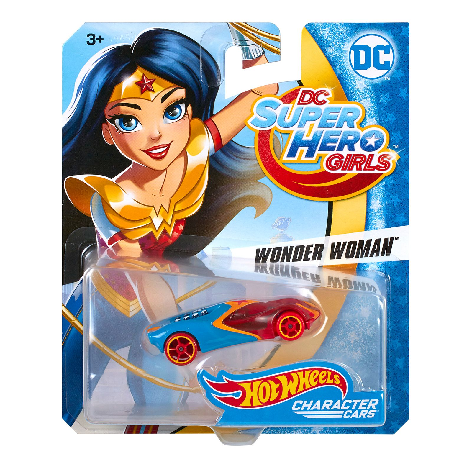 Hot Wheels Dc Super Hero Girls Wonder Woman Character Car Dxn53 Hot Wheels