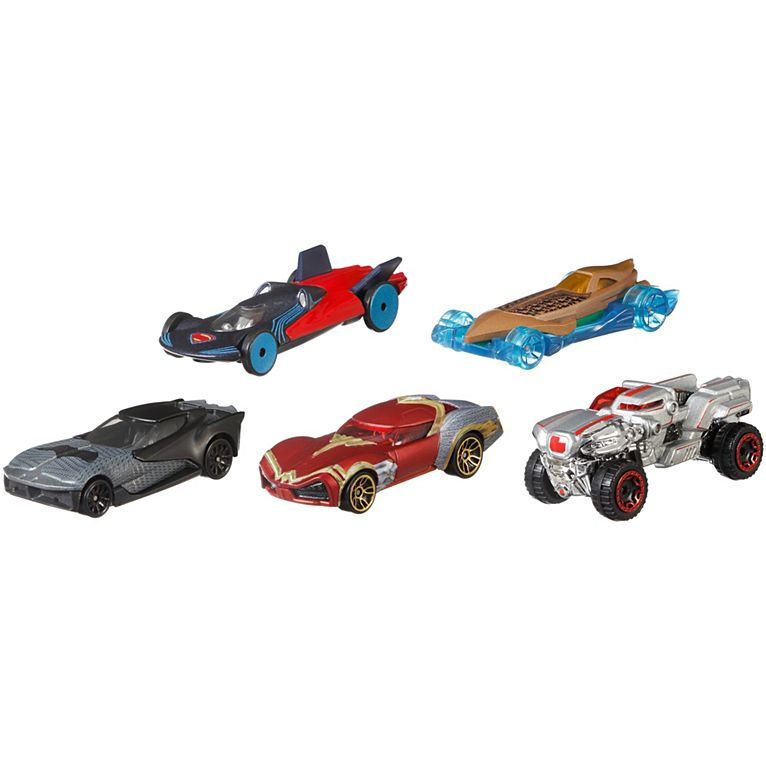 Image for HW DCU JUSTICE LEAGUE 5-PACK from Mattel